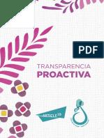 Transparencia proactiva