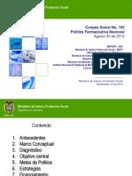 CONPESsocial155Final_PoliticaFarmaceutica_Presentacion