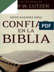 7 Razones Para Confiar en La Biblia (Erwin Lutzer)