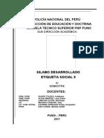 Silabo Desarrollado Etiqueta Social II 2017 Adalberto