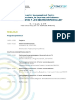 Programa Macro Centro