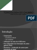 Toxicologia Do Chumbo