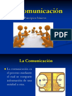 Comunicación principios básicos