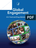 Food and drug administration Global outreach programs