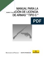 Temario Licencia de Armas Tipo c 2009