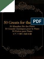 Yamaha 50 Greats Piano