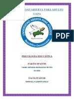 Psicologia Educativa Unidad 5 y 6