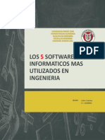 5 Software Informaticos Utilizados en Ingenieria
