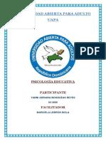 Psicologia Educativa Unidad 2