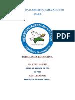 Psicologia Educativa Unidad 2 Danilsa