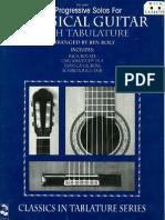 [BOOK] - 39 Progressive Solos for Classical Guitar Book 1