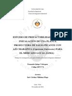estudio prefactivilidad salsa de aji U lima.pdf