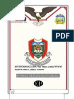 CD Programación Curricular Anual 2015