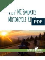 VisitNCSmokies Motorcycle Rides 2016