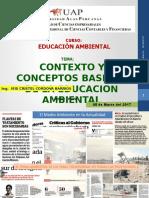 Clase 01 - Contexto y Conceptos de La Educacion Ambiental