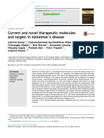 Current and Novel Targets in Alzheimer's