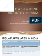Textile and Clothing Industry in India