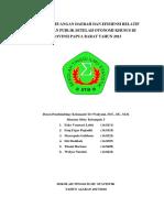 ANALISIS KEUANGAN DAERAH DAN EFISIENSI RELATIF KEBIJAKAN PUBLIK SETELAH OTONOMI KHUSUS DI PROVINSI PAPUA BARAT TAHUN 2013
