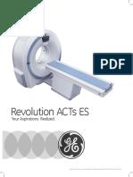 GE Revolution ACTs ES Brochure