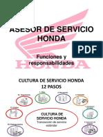 ASESOR DE SERVICIO HONDA