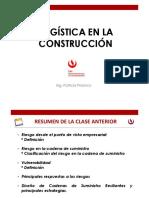 Sesión 4 - Logistica en La Construcción EPE