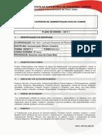 Plano de Ensino Comunicação Oficial e Oratoria