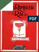 Niebergall - Red Rambler Rag