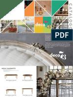 Nuevo Catálogo Deco73