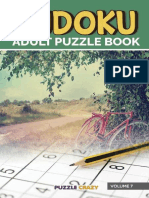 Sudoku Adult Puzzle Book Volume - Puzzle Crazy (5)