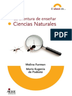 La Aventura de Enseñar Ciencias Naturales