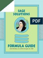 Sage Solutions Formula Guide