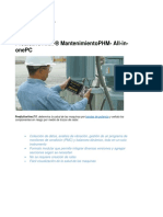 Especificaciones de PredictiveVmx7-2017. Mantenimiento PHM- All-in-onePC