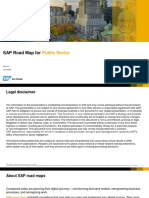 SAP Road Map for Public Sector