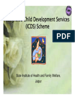 Integrated Child Development Scheme (ICDS)