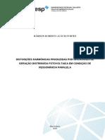 DISTORÇÕES HARMÔNICAS PRODUZIDAS POR INVERSORES DE GERAÇÃO DISTRIBUÍDA FOTOVOLTAICA EM CONDIÇÃO DE RESSONÂNCIA PARALELA