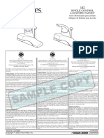 Price Pfister 142 faucet--Instruction Sheet