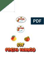 Sticker Mangos