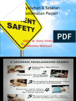 Presentasi Penyuluhan Patient Safety