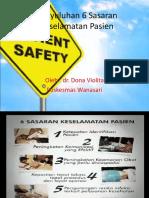 Presentasi Penyuluhan Patient Safety