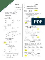 Factoriales ,Binomio de Newton y Numeracion