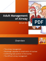 Adult Management of Airway