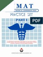 NMAT Practice Set Part 1 & Part 2 With Answer Key
