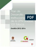Plan de Desarrollo Institucional UPN
