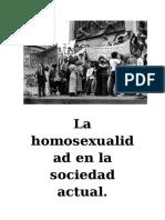 La Homosexulidad en El Timepo y Espacio