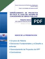 5 El Esquema de Gerenciamiento de Proyectos en Chile