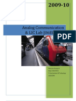 Analog Communication Lab Manual VTU