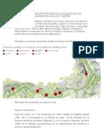 Noticia, plano y curriculum de los artistas de los Balnearios Sicilia y Serón