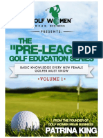 The Pre-League Golf Education Series Volume I