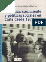 reformas, crecimiento y políticas sociales en Chile desde 1973