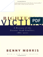 Righteous Victims [Pt 1] - Benny Morris [2001]